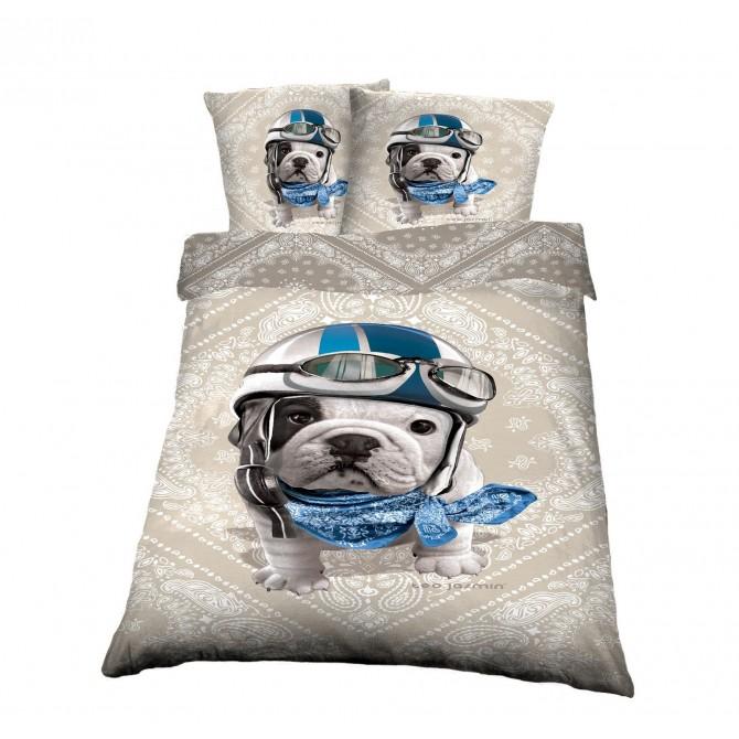 linge de lit ado housse de couette new jack imprime en coton la redoute interieurs with linge. Black Bedroom Furniture Sets. Home Design Ideas
