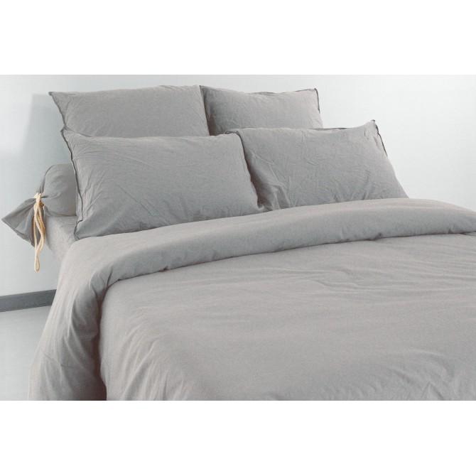 housse de couette palace galet. Black Bedroom Furniture Sets. Home Design Ideas
