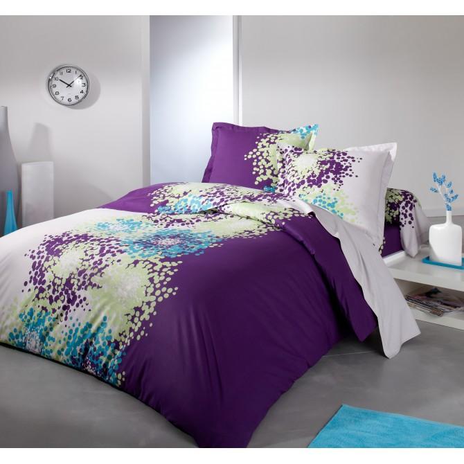 pin parure housse de couette desigual margarita percale 80. Black Bedroom Furniture Sets. Home Design Ideas