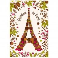 Torchon CHOCOLAT DE PARIS