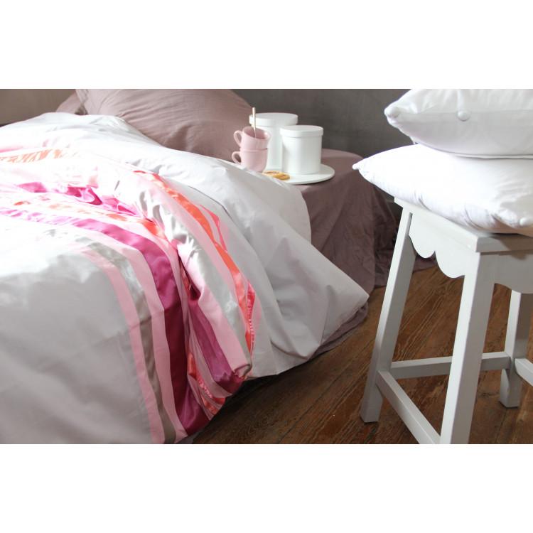 housse de couette taulignan taupe. Black Bedroom Furniture Sets. Home Design Ideas