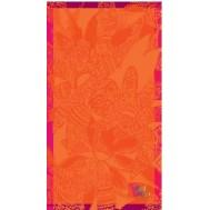 Drap de plage BRODERIE 1809 Orange