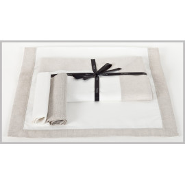 Serviette de table DOBBY ll Harmony