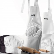 Gant de four CHEF Blanc