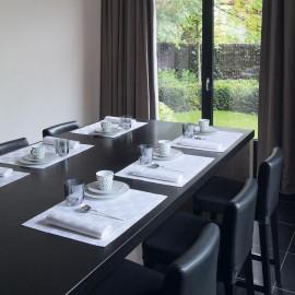 Set de table ANNEAUX Blanc