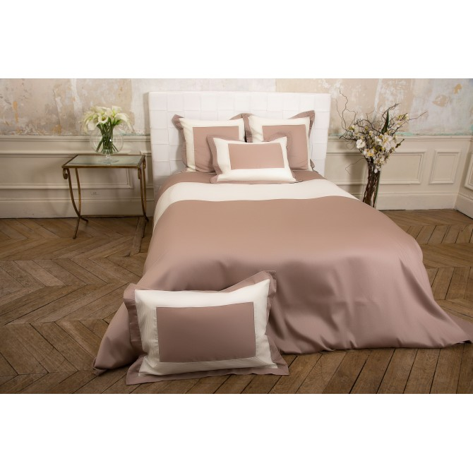 housse de couette taupe top housse de couette percale de. Black Bedroom Furniture Sets. Home Design Ideas