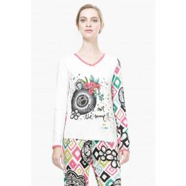 Haut de pyjama B&W ROMBOS