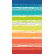 Drap de plage VELOURS RAYE Multicolore