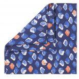Lot de 6 serviettes de table SHELL Indigo