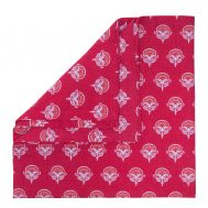 Lot de 6 serviettes de table PEACOCK Magenta