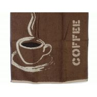 Essuie-mains COFFEE Marron