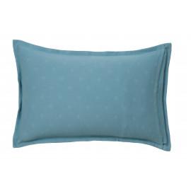 Taie d'oreiller DELHI Turquoise