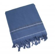 Fouta éponge LAGON Bleu jeans