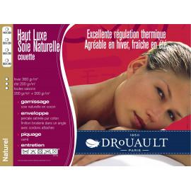 Couette SOIE HIVER Drouault