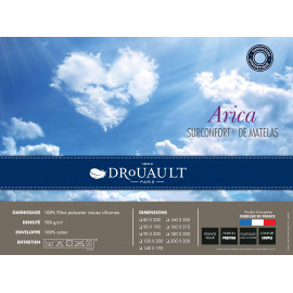 SUR-MATELAS ARICA Drouault 700 gr/m²