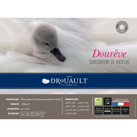 SUR-MATELAS Naturel duvet Drouault 1700 gr/m²