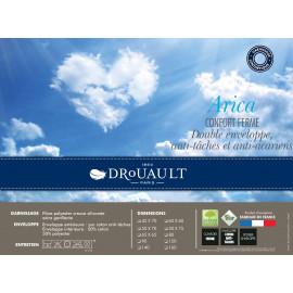 Traversin Plat ARICA Drouault Déhoussable 40 cm large