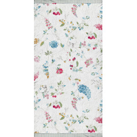 Serviette de toilette HUMMING BIRDS Blanc