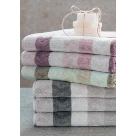 Drap de bain MAGIC MOTIFS Rose