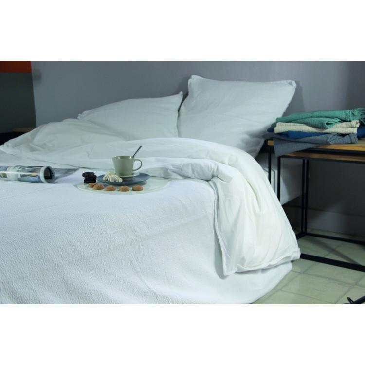 housse de couette westin blanc. Black Bedroom Furniture Sets. Home Design Ideas