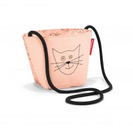 Sac zippé bandoulière CATS & DOG