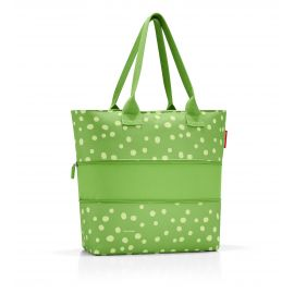 Sac SHOPPER E1 SPOTS GREEN