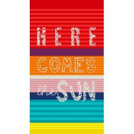 Drap de plage COMES THE SUN