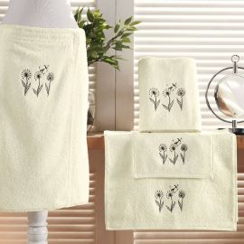 Drap De Douche FLOWER BIRD