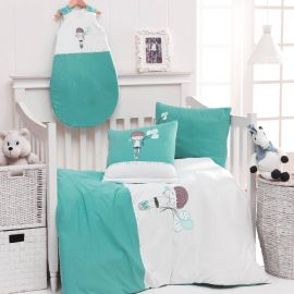 Housse De Couette Bebe + Taie FRED