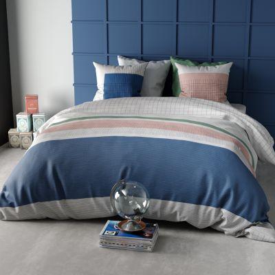 parure de lit vert monteleone. Black Bedroom Furniture Sets. Home Design Ideas