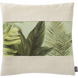 Coussin garni HARMONY FEUILLES