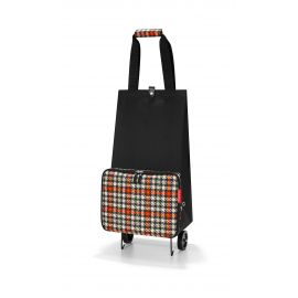 Trolley pliable GLENCHECK RED