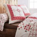 Parure Housse De Couette + 2 taies FLANELLE GALWAY