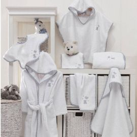 Poncho Baby Soft Ours