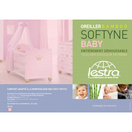Oreiller rectangle BEBE 40x60