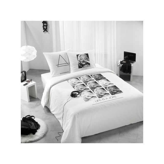 housse de couette marilyn monroe. Black Bedroom Furniture Sets. Home Design Ideas
