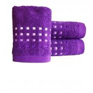 Serviette de toilette PURE SQUARE Violet