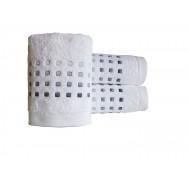 Serviette de toilette PURE SQUARE Blanc